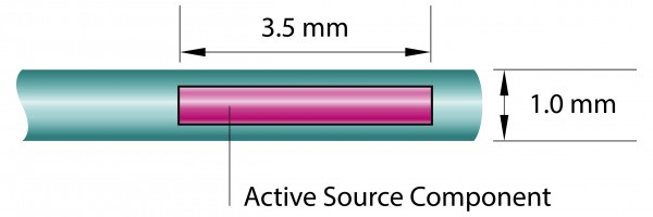 Co-60 Source 74 GBq ±10%, Type Co0.A86